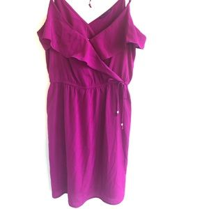 American Eagle Spaghetti Strap Summer Dress Pink